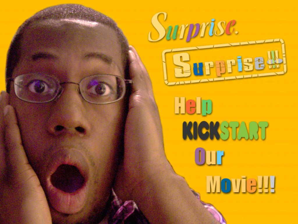 "Be a part of ""Surprise, Surprise!!!""  A New Romantic Comedy's video poster"