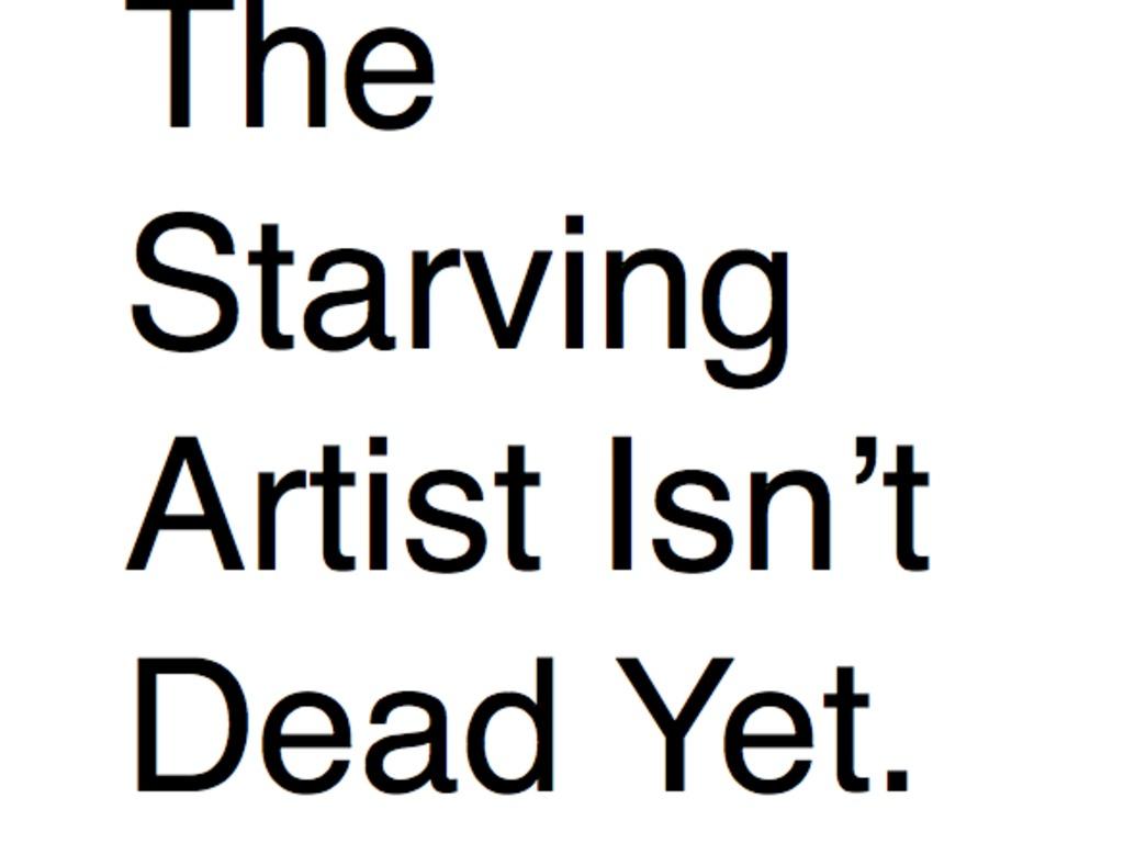 The Starving Artist Isn't Dead Yet.'s video poster