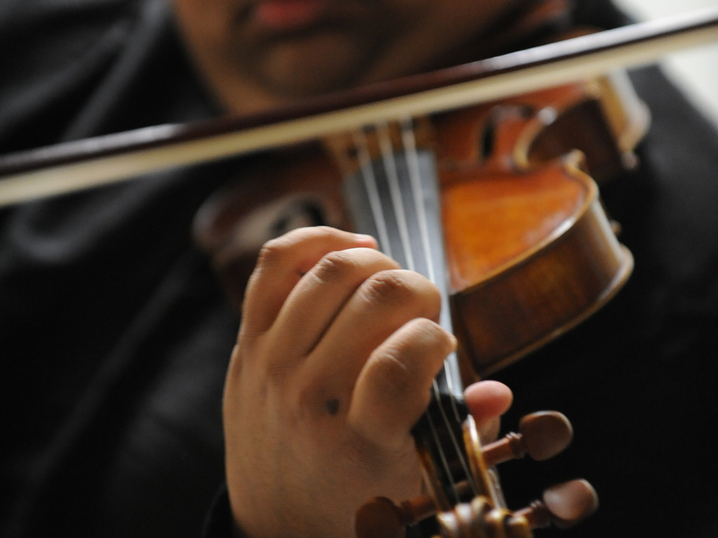 Violinist Robert Gupta's debut album, on a Stradivarius.'s video poster