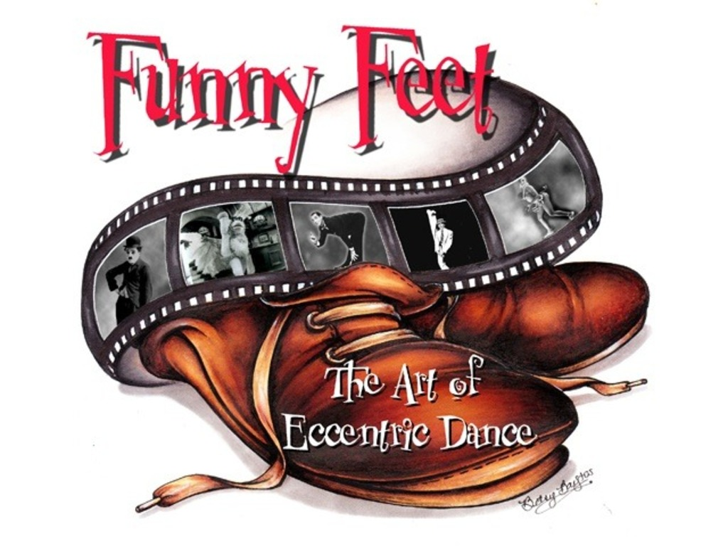 Funny Feet: The Art of Eccentric Dance's video poster
