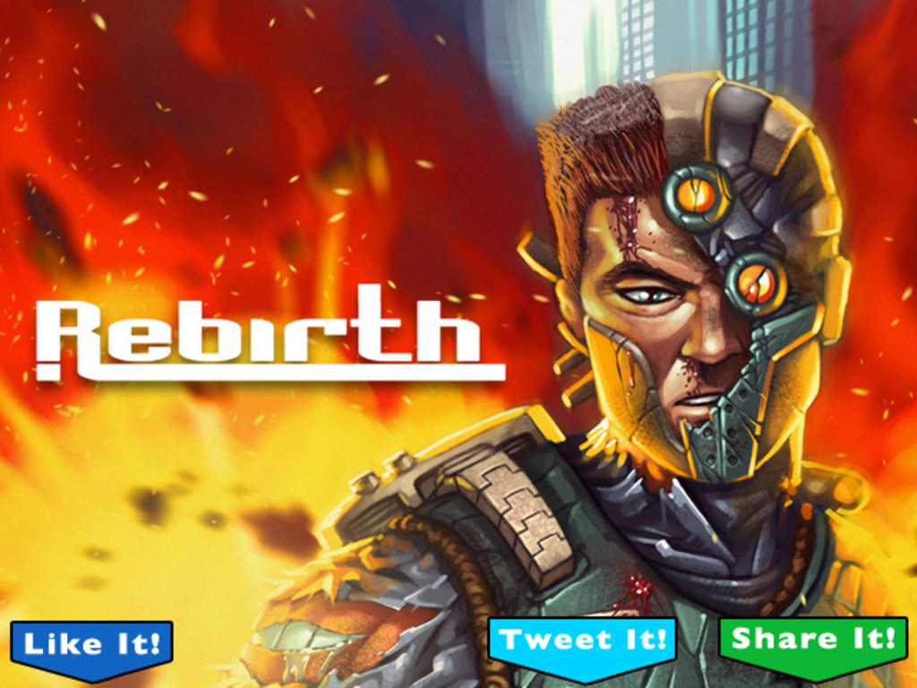 Rebirth: A multi level - action packed - sci-fi story!'s video poster