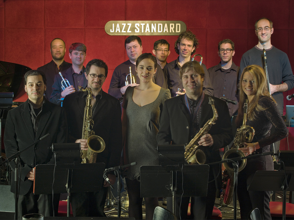 "Travis Sullivan's Bjorkestra ""Live at the Jazz Standard"" CD's video poster"