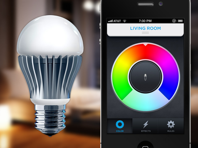 lifx the light bulb reinvented by phil bosua kickstarter. Black Bedroom Furniture Sets. Home Design Ideas