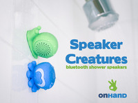 Speaker Creatures by OnHand  - Bluetooth Shower Speakers