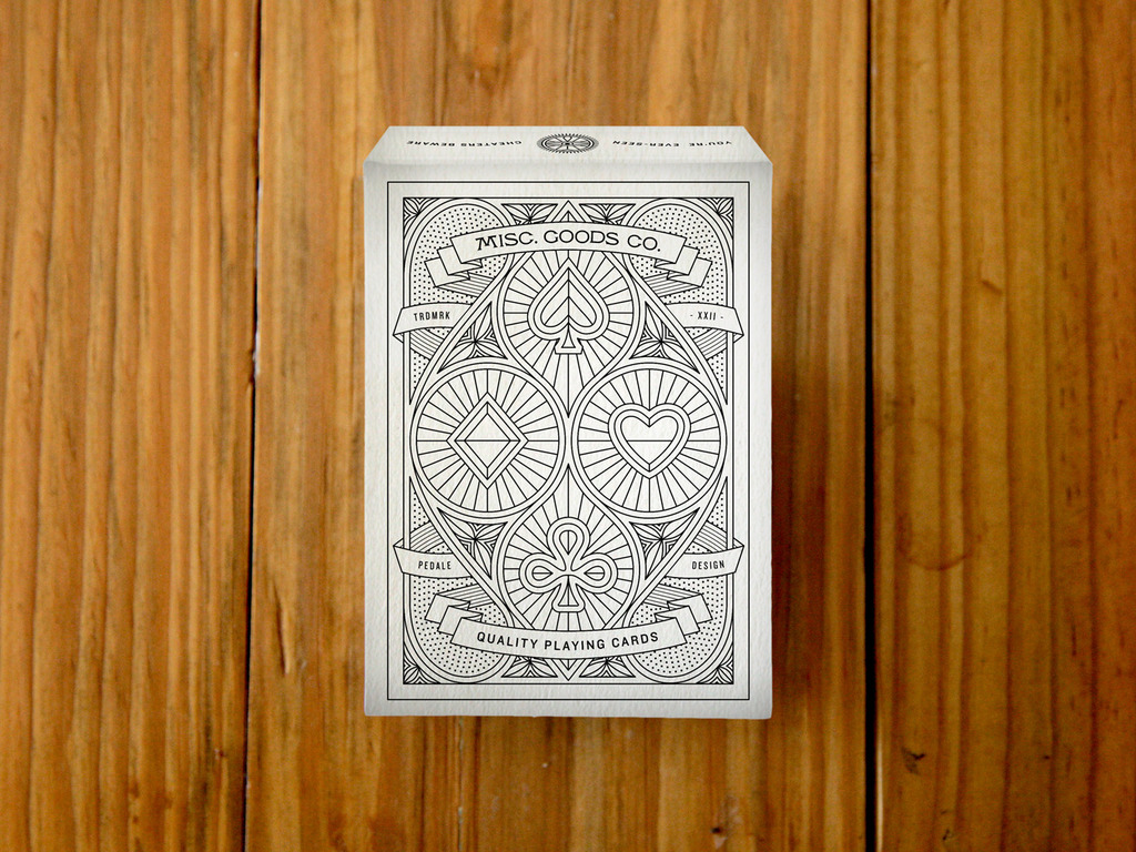 A Deck of Playing Cards by Pedale Design. Printed by USPC.'s video poster
