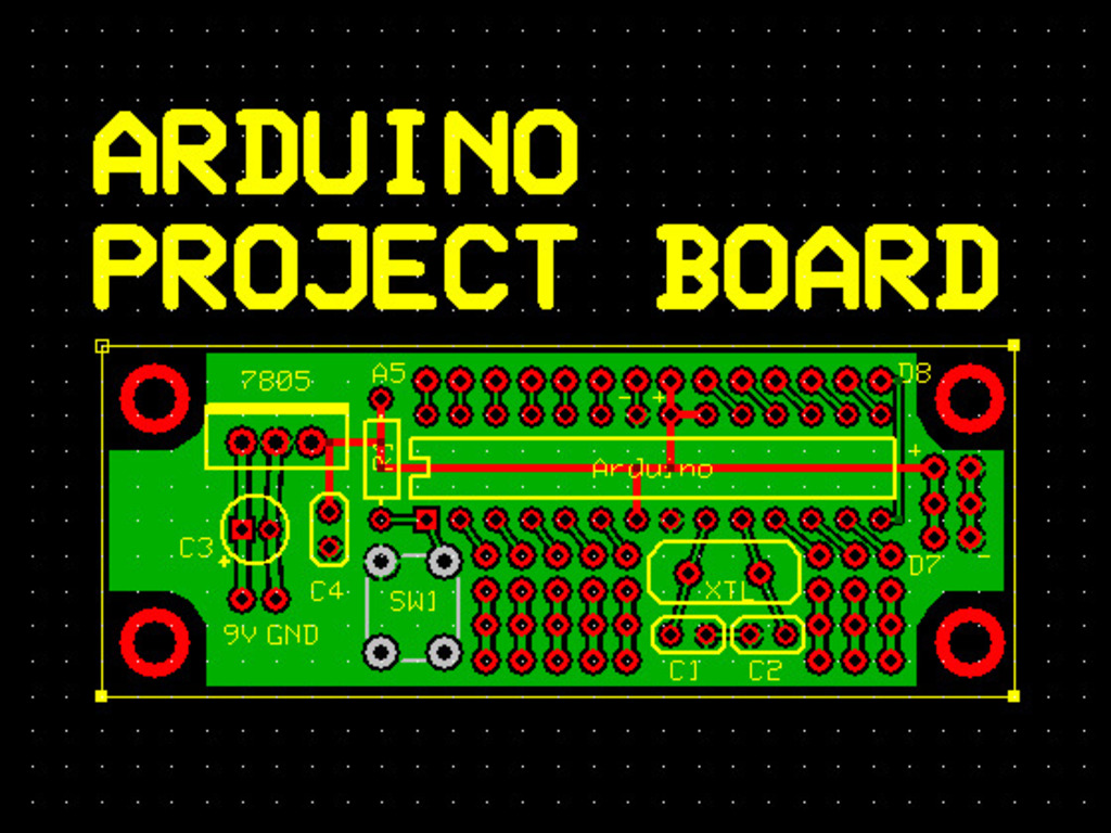 Arduino Project Board's video poster
