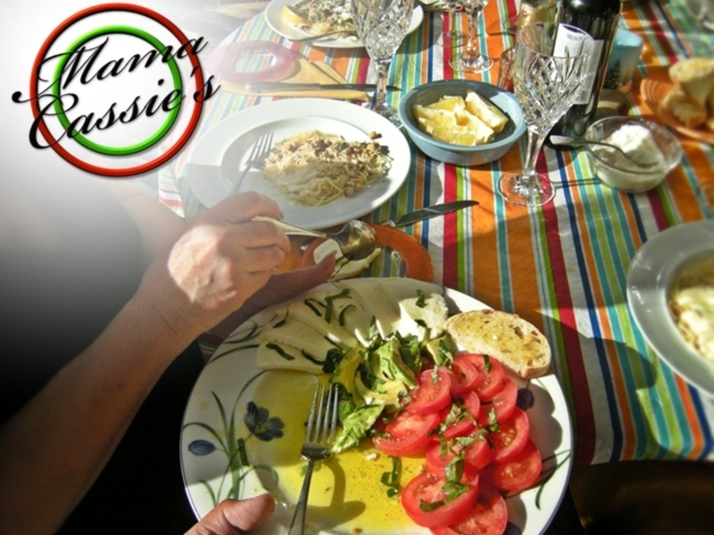"""Mama Cassie's """"Food is Love!"""" Cookbook's video poster"""