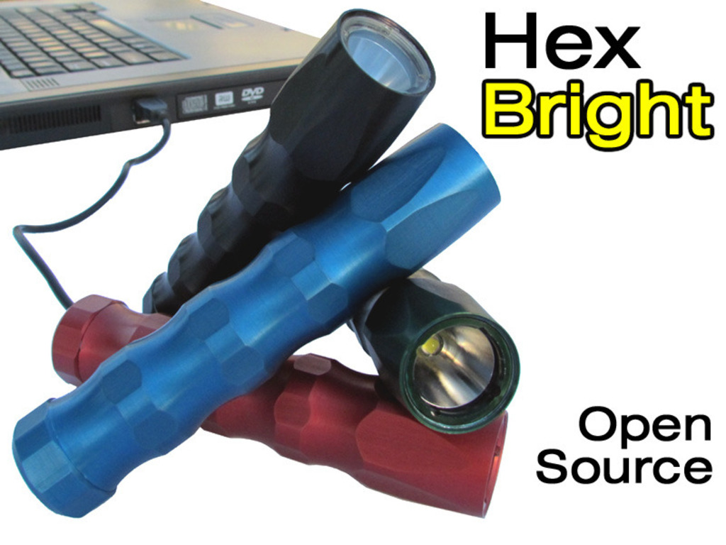 HexBright, an Open Source Light's video poster
