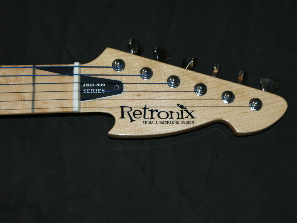 Retronix Guitar Project - by J. Backlund Design Guitars's video poster