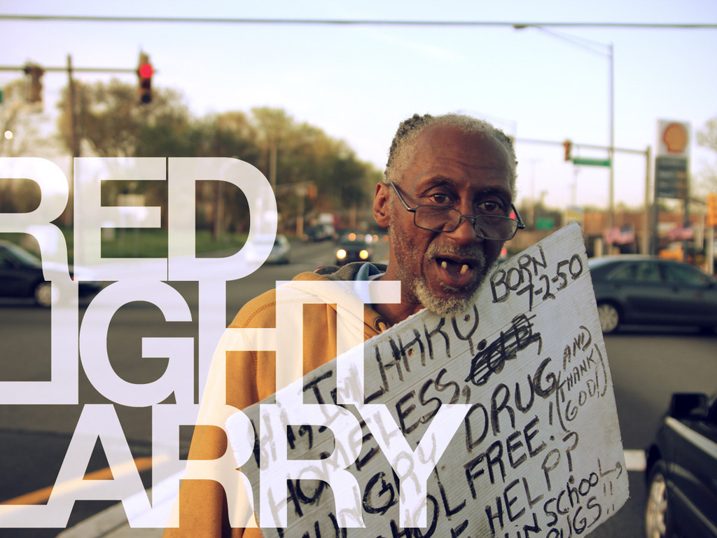 RED LIGHT LARRY: A FILM ABOUT A JERSEY CITY PANHANDLER's video poster
