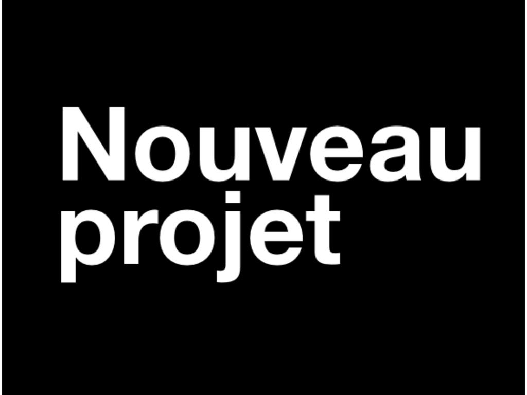Nouveau projet, numéro 1's video poster