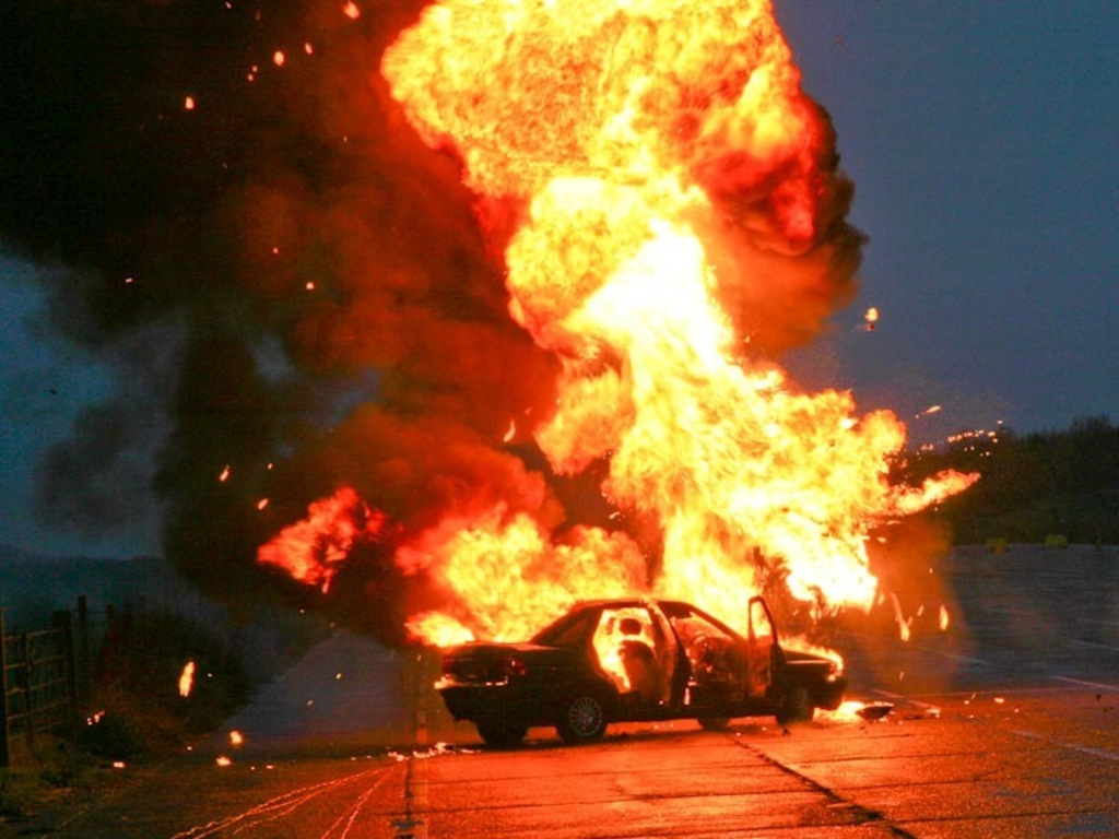 Love MKE. Blow Up a Car.'s video poster