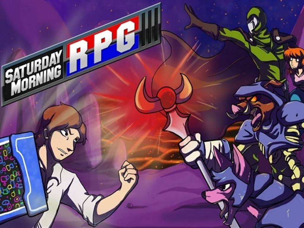 Saturday Morning RPG's video poster