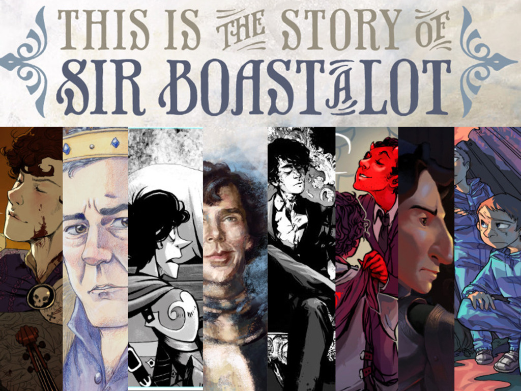 Sir Boast-A-Lot: A Fanbook's video poster