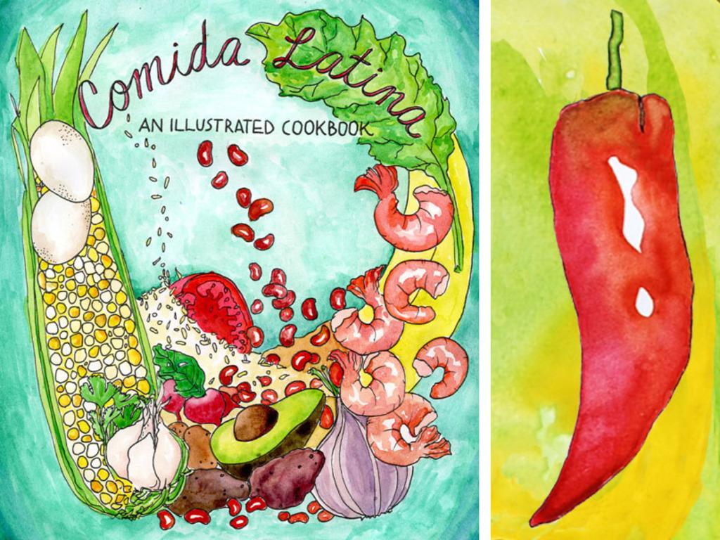 Comida Latina: An Illustrated Cookbook's video poster