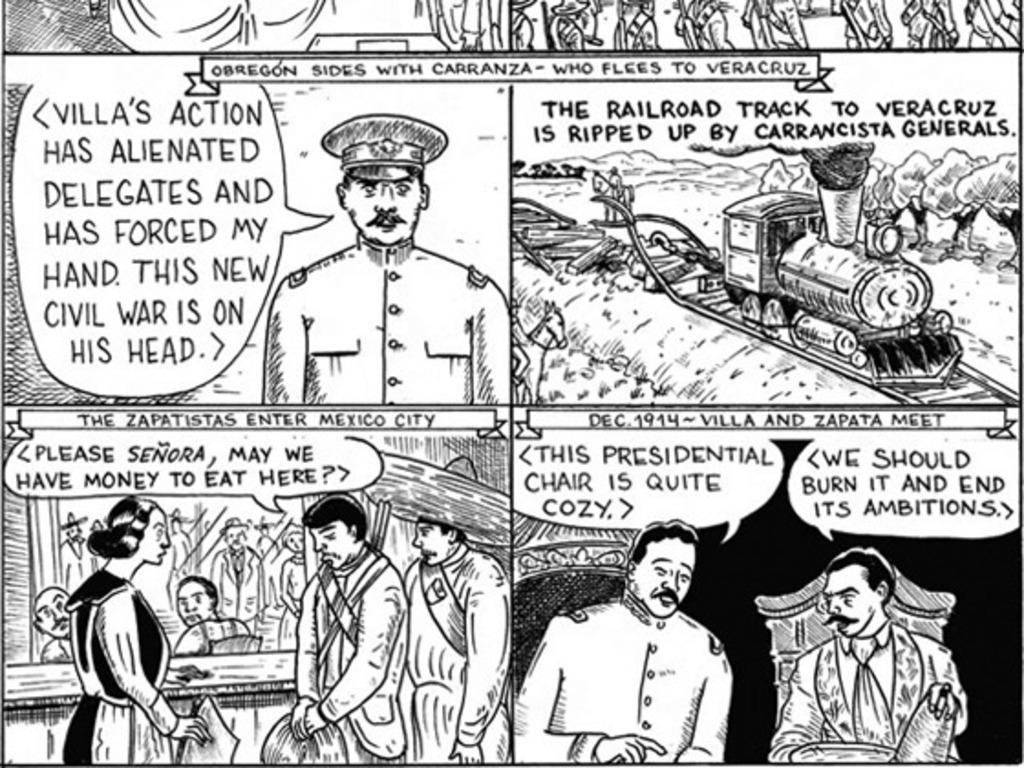 ABUELA y los DEAD MEXICANS: a comic book's video poster