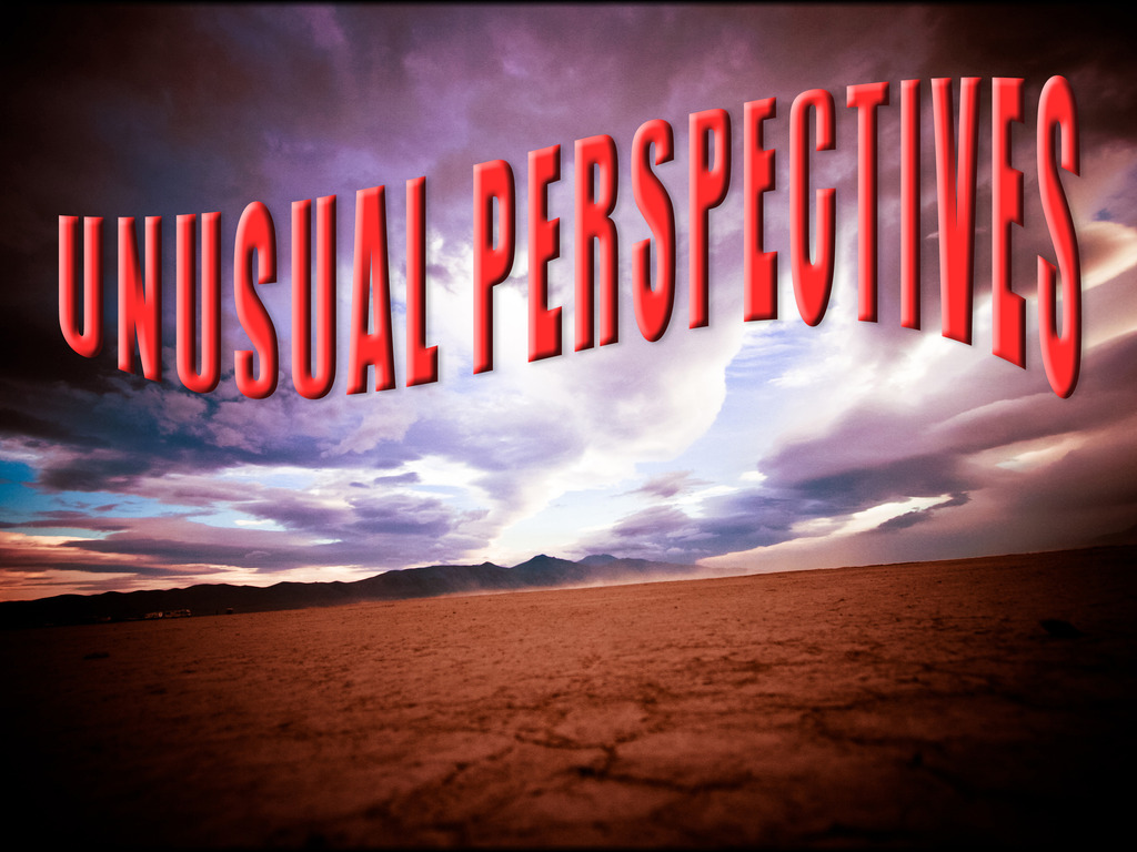 """Unusual Perspectives"" ~ a film by paynie's video poster"