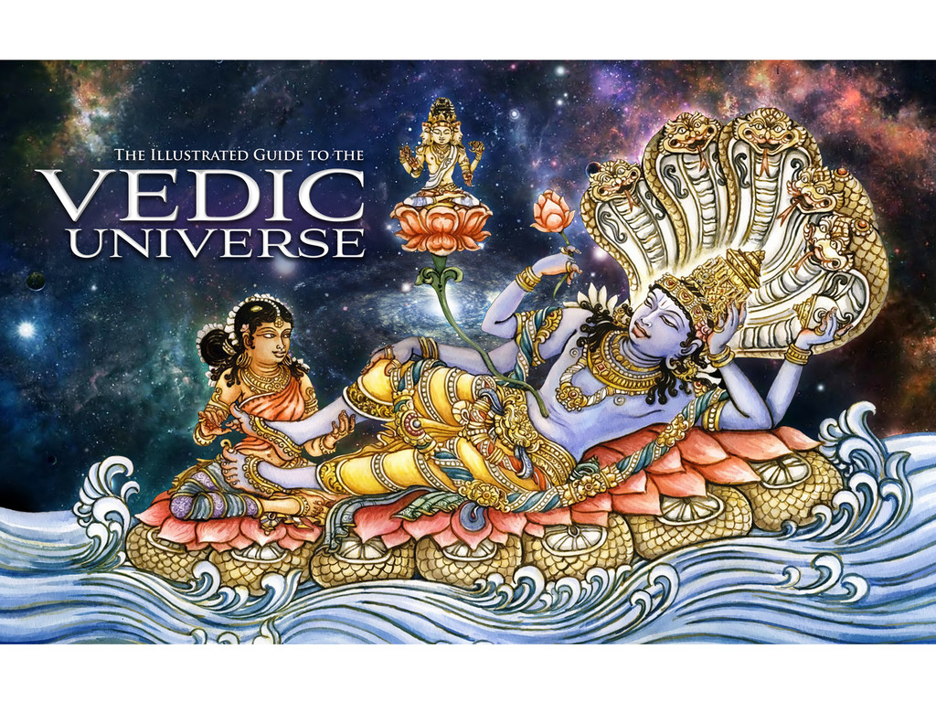 The Illustrated Guide to the Vedic Universe's video poster
