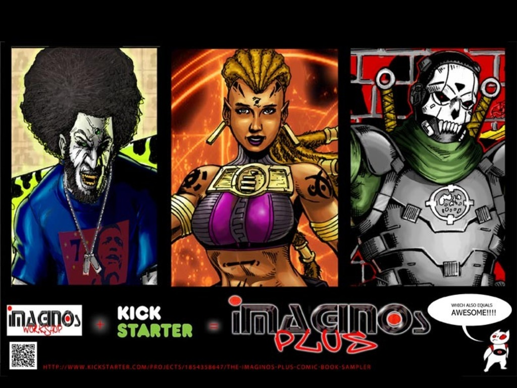 "The ""Imaginos Plus"" Comic Book Sampler (Canceled)'s video poster"