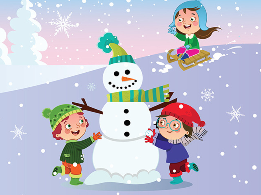 """""""It's a Snow Day"""" music CD for children who love the snow!'s video poster"""