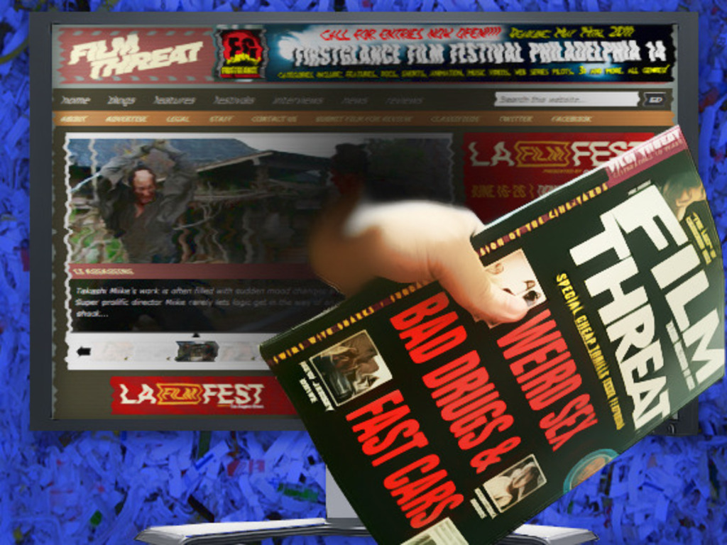 The Return of Film Threat Magazine (Canceled)'s video poster