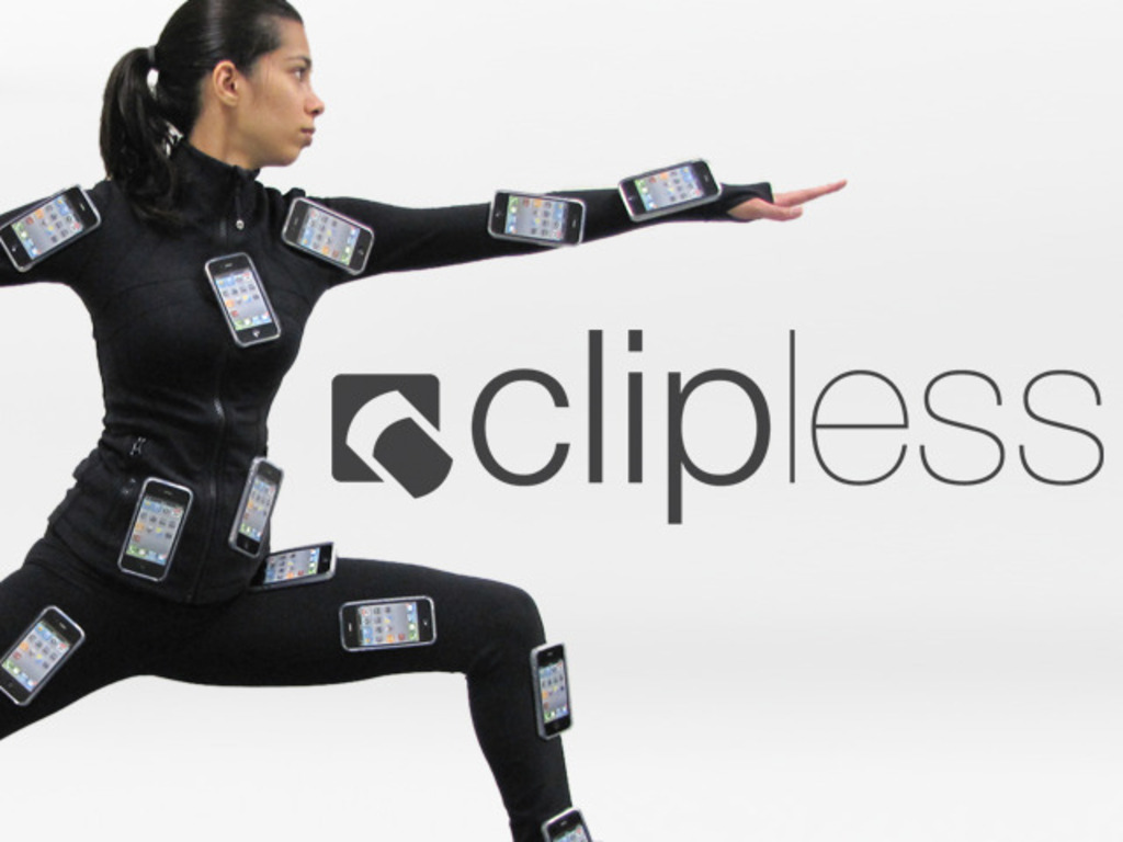Clipless: Secure a phone to new surfaces, NFC-enabled!'s video poster