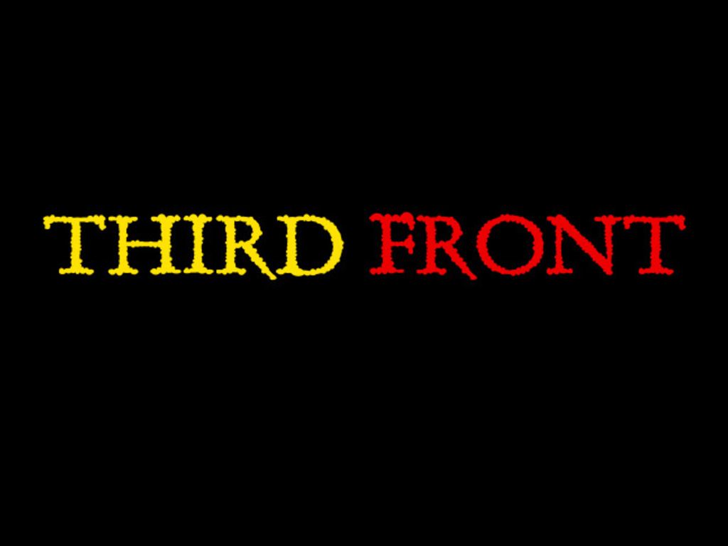 Third Front's video poster