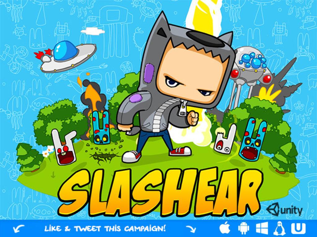 Slashear - crazy cartoon story's video poster