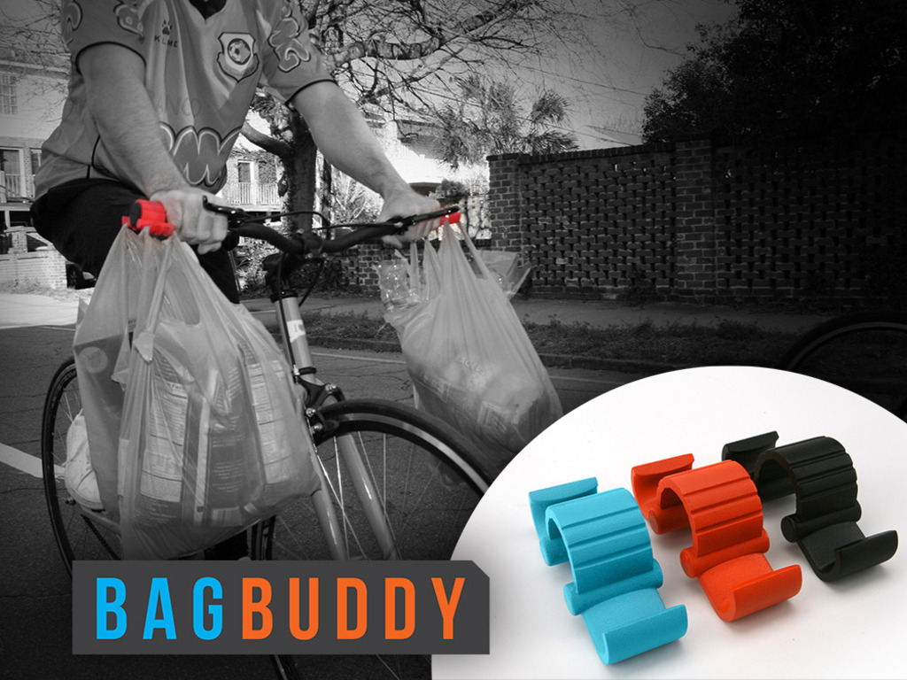 The Bag Buddy - A Necessary Bicycle Accessory's video poster