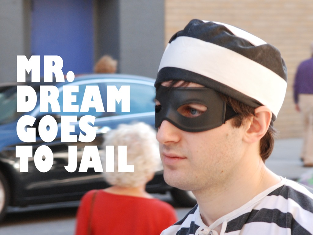 MR. DREAM GOES TO JAIL's video poster
