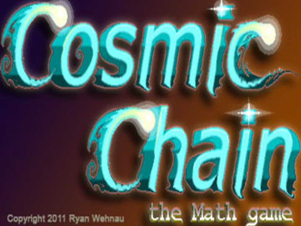 COSMIC CHAIN - the math game (Canceled)'s video poster