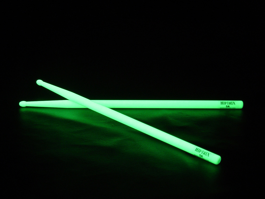 Hiptrix: The World's Brightest Glow-in-the-Dark Drumsticks's video poster