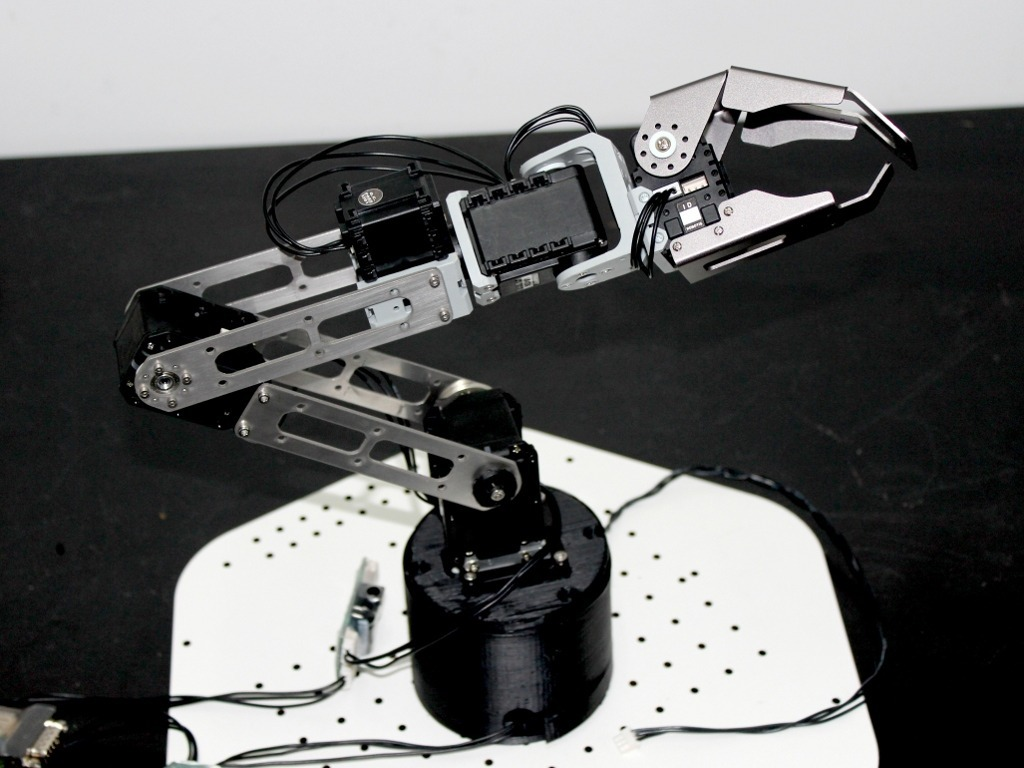 Baccus: Open Source Robot Arm's video poster