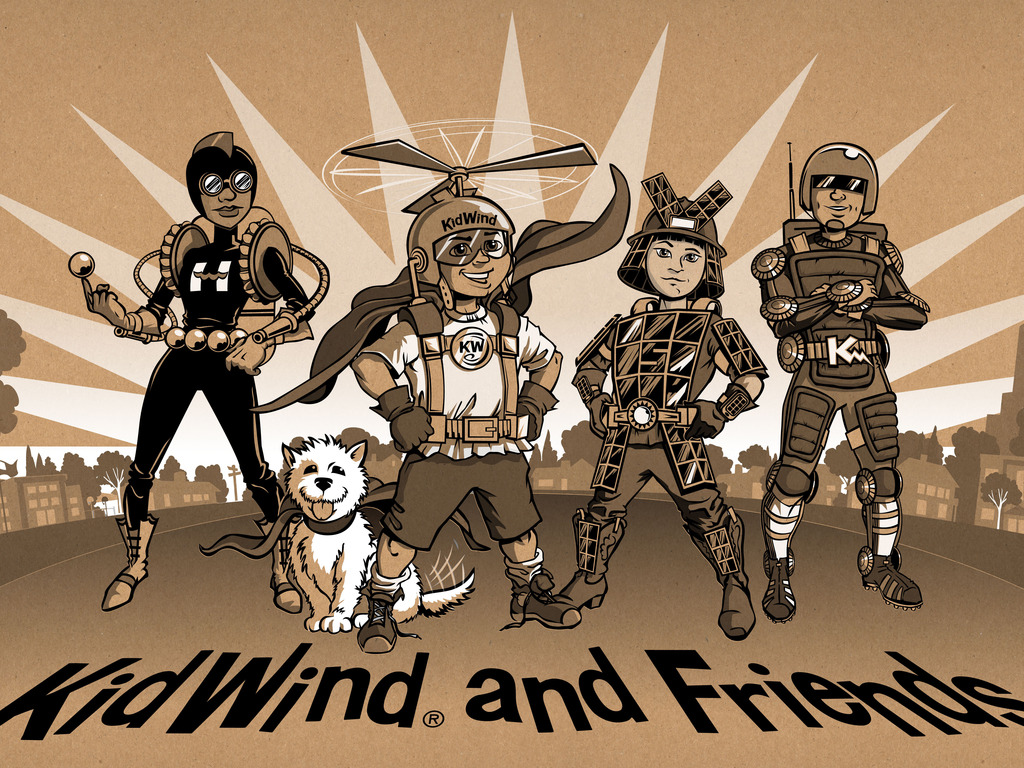 KidWind and Friends : Clean Energy Science Kits and Comics's video poster