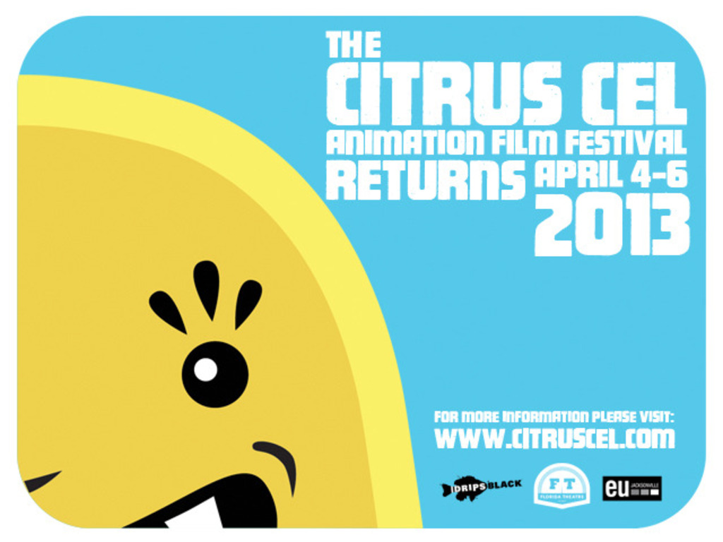 The 2013 Citrus Cel Animation Film Festival's video poster