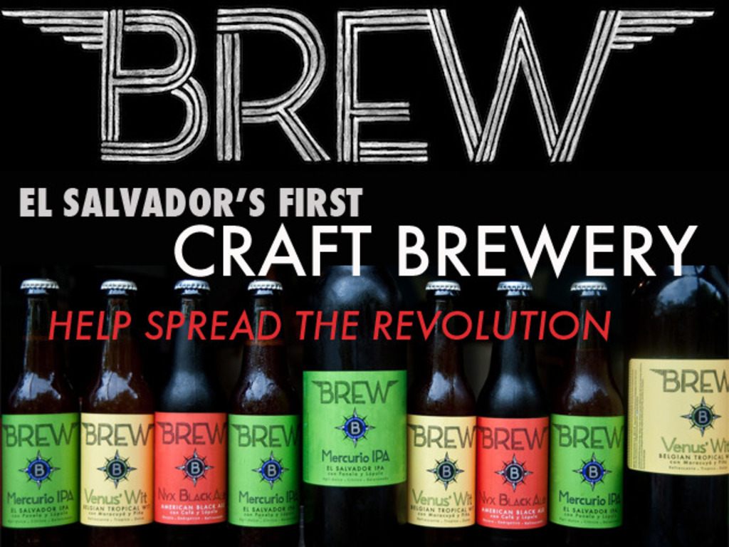 Brew Revolution, El Salvador's First Craft Beer Brewery's video poster