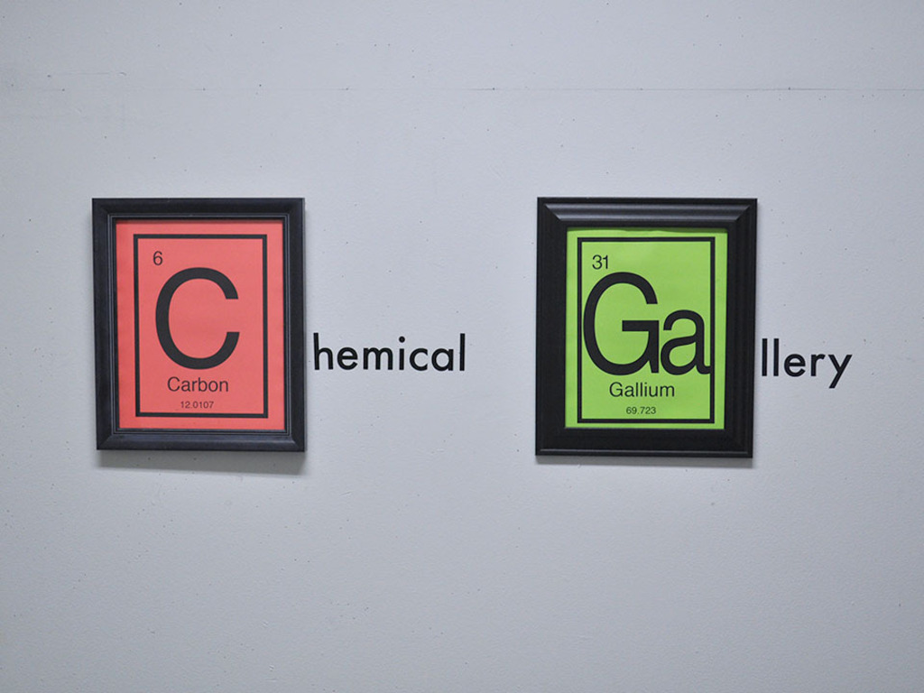 The Chemical Gallery's video poster