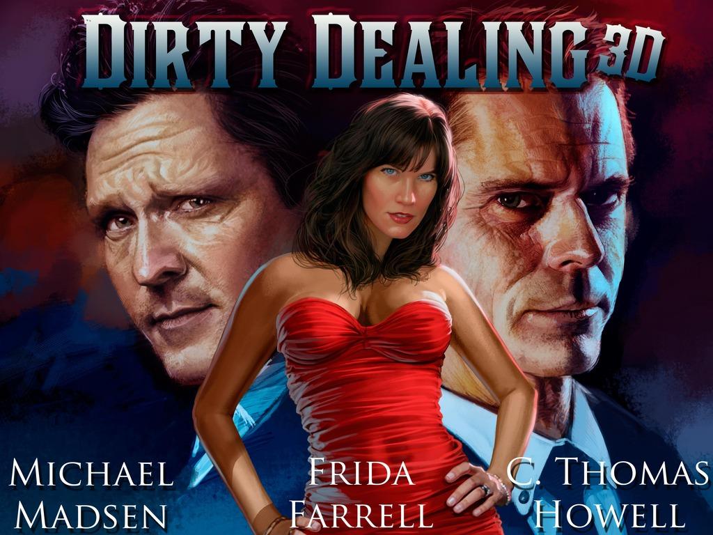 Dirty Dealing 3D - feature film's video poster