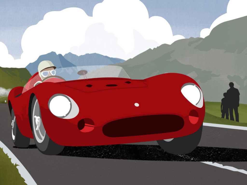 The Little Red Racing Car: A Father/Son/Car Story.'s video poster