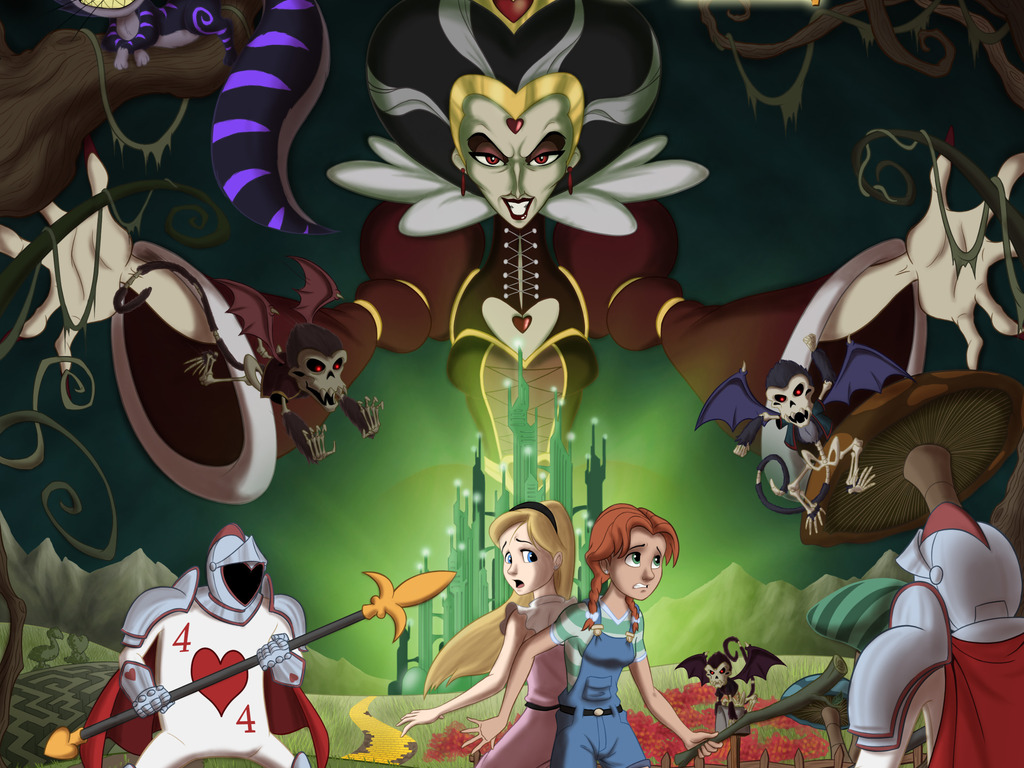 The Red Queen of Oz - A Graphic Novel Project's video poster