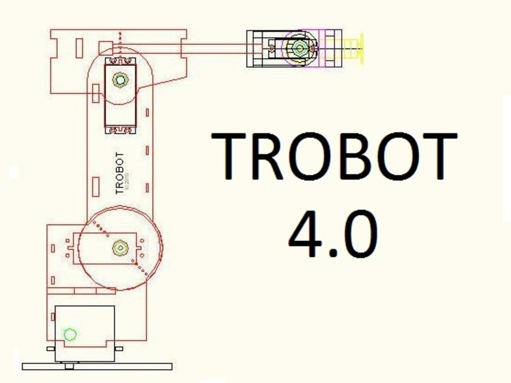 TROBOT 4.0: A Miniature Articulated Robot's video poster