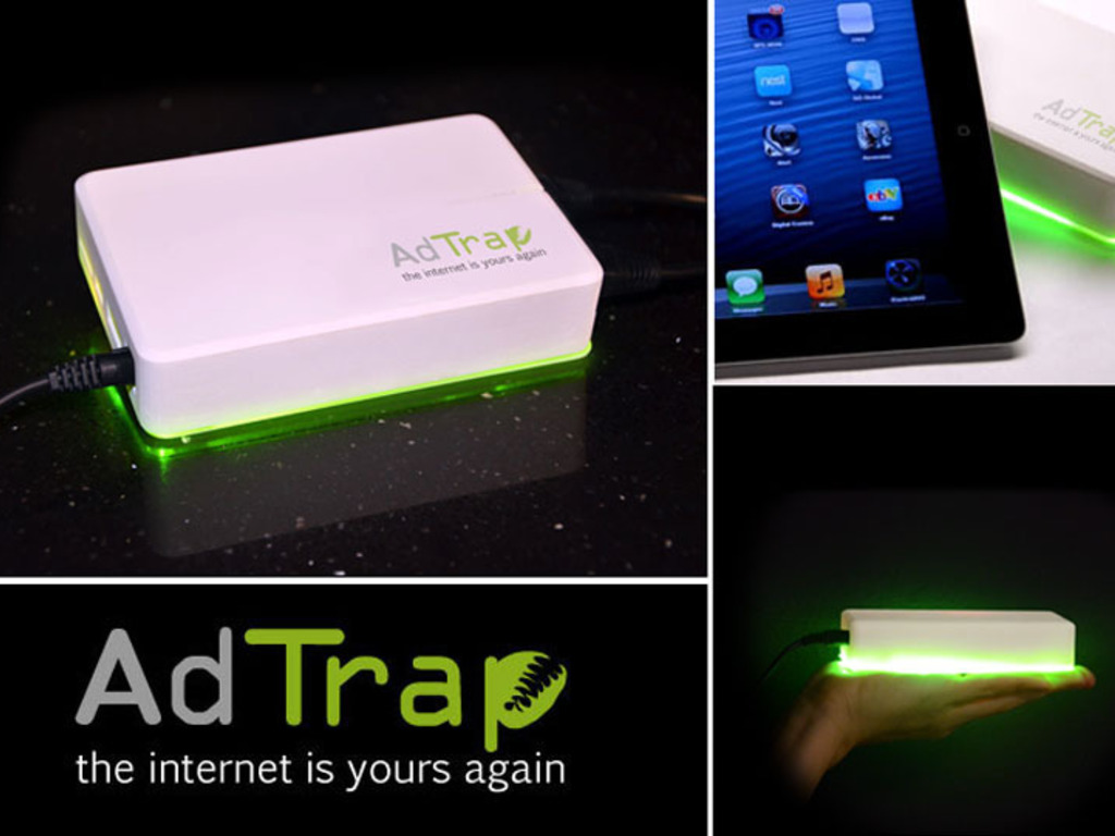 AdTrap - The internet is yours again's video poster
