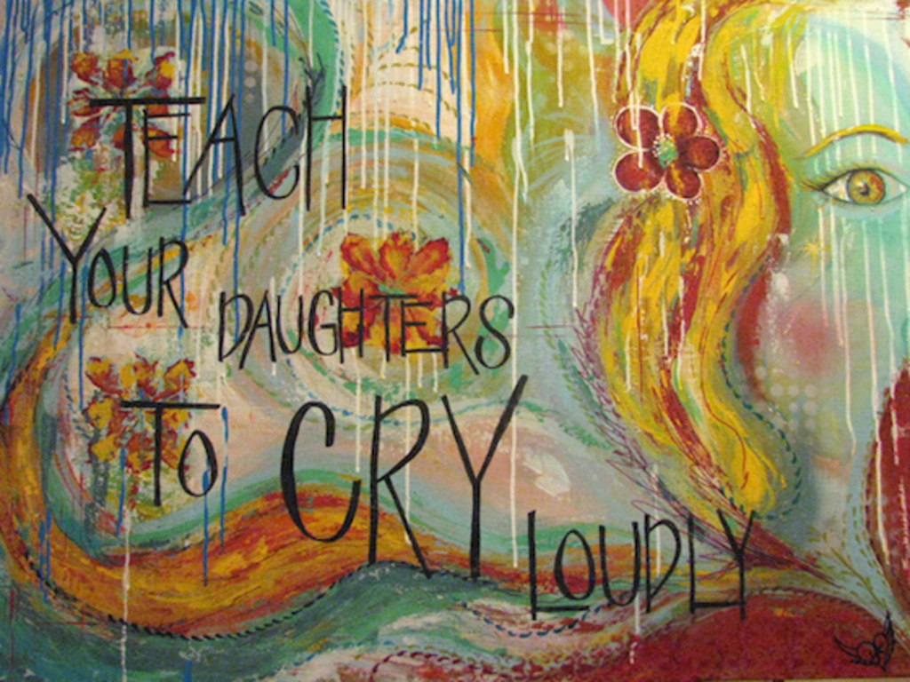 Teach Your Daughters To Cry Loudly's video poster