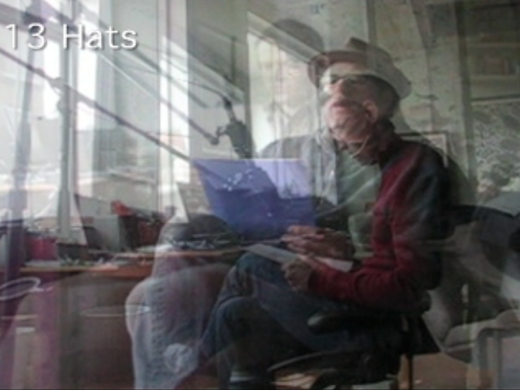 13 Hats: The Feralist's video poster