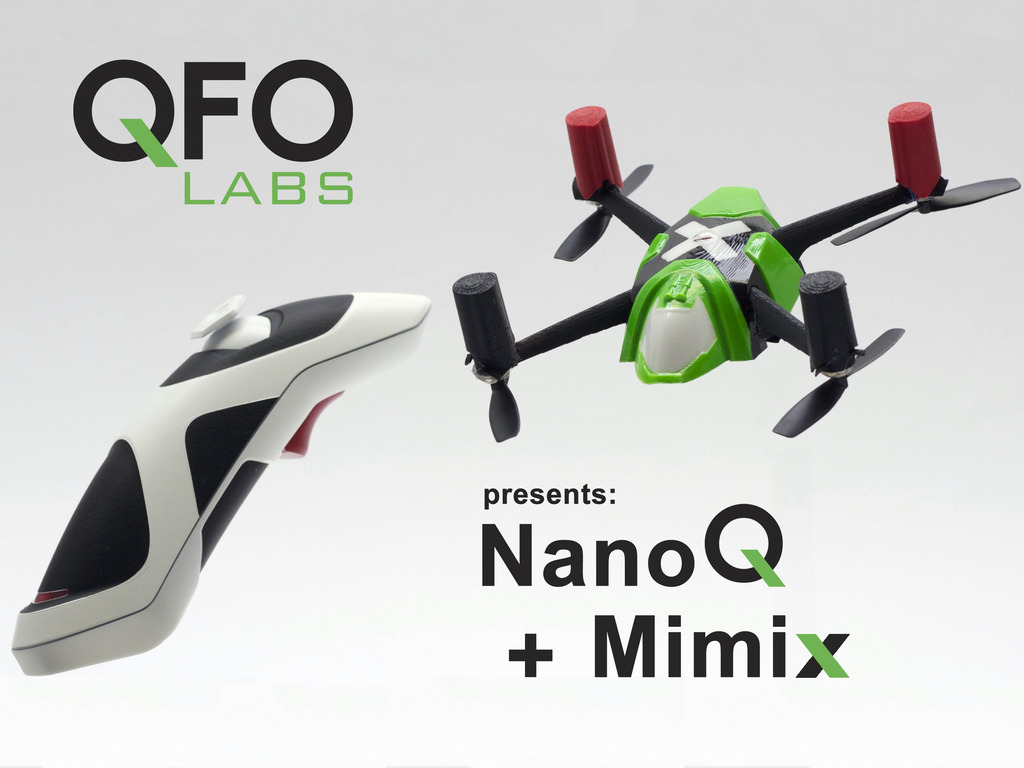 Mimix™ Tilt-to-Fly controller and NanoQ™ copter's video poster