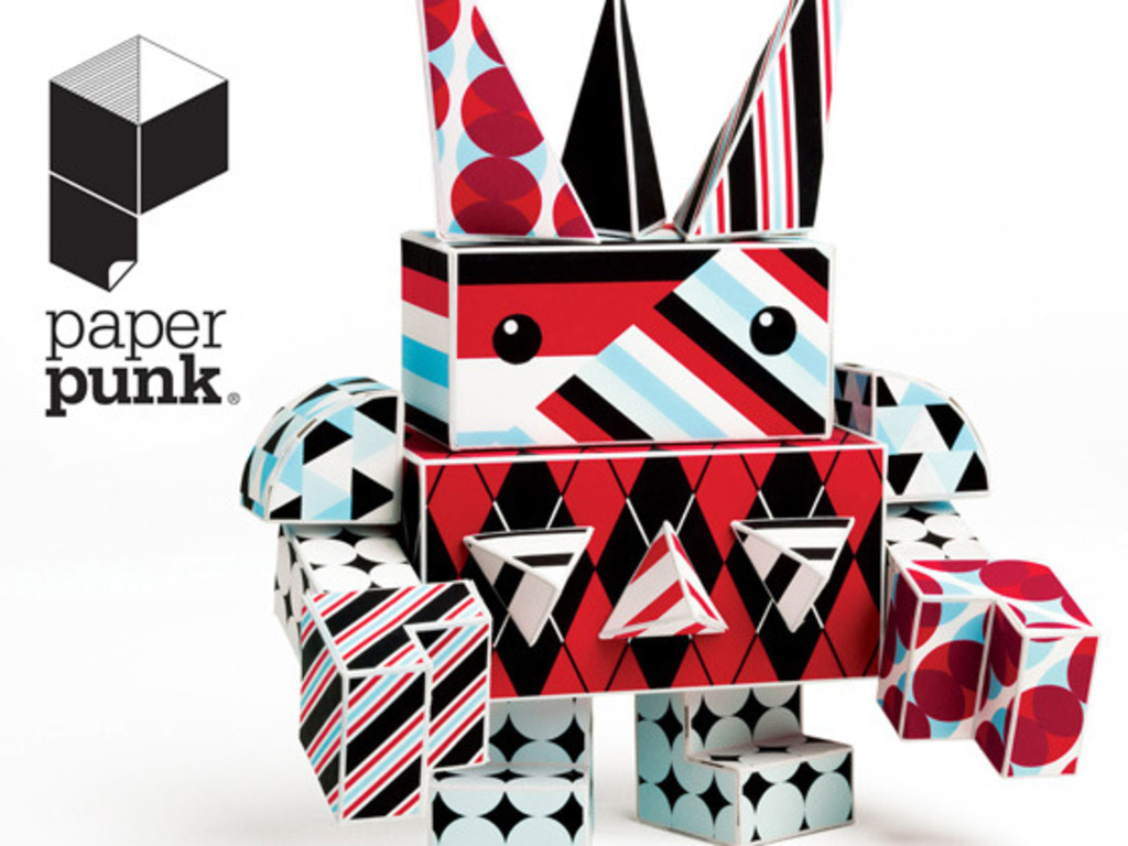 PAPER PUNK - paper building blocks for your imagination's video poster