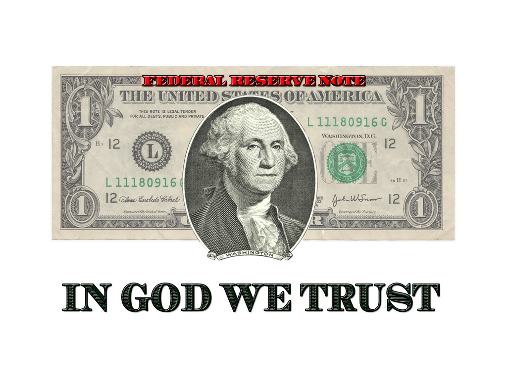 IN GOD WE TRUST:  Why We, The People, Must Say No to the Fed's video poster