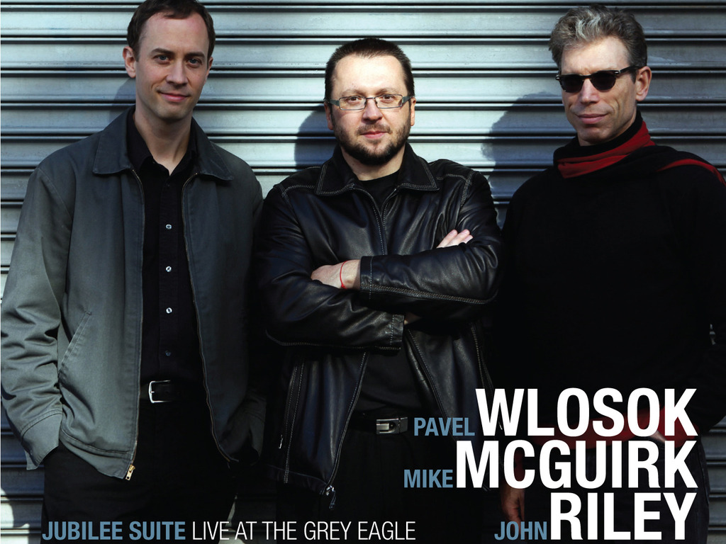 "Wlosok/McGuirk/Riley ""Jubilee Suite"" Jazz Trio CD release's video poster"