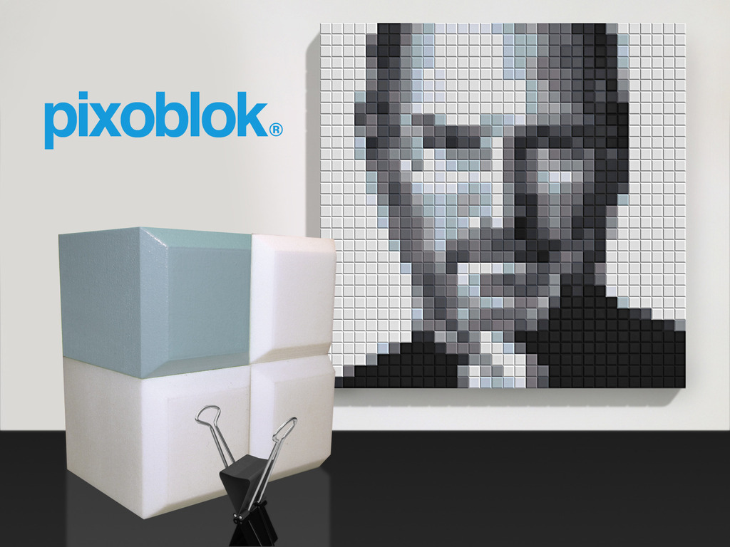 Pixoblok. Unique Wall Art's video poster