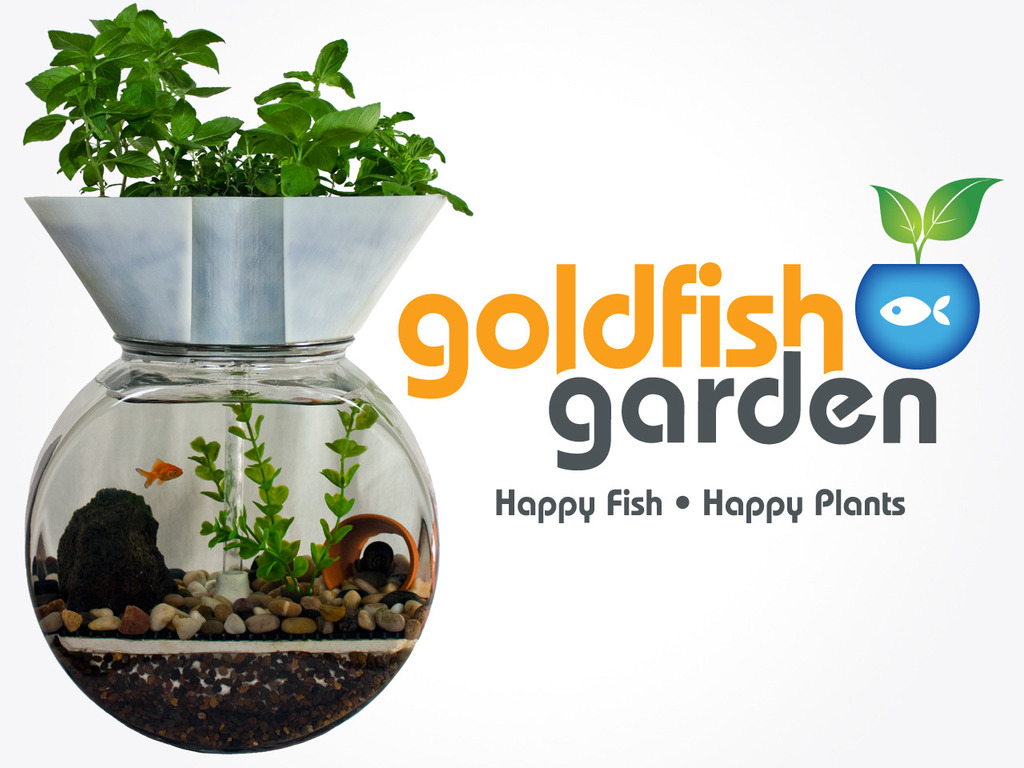 The Goldfish Garden: Self-Cleaning Aquaponic Aquarium's video poster